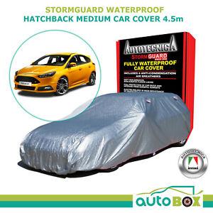 Autotecnica Ford Focus Medium Hatchback Car Cover Stormguard Waterproof w/ Bag