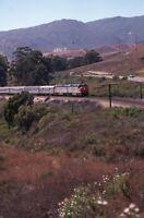AMTRAK Railroad Locomotives Train Original 1984 Photo Slide