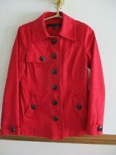LADIES NEXT RED SMART MAC JACKET COAT SIZE 10