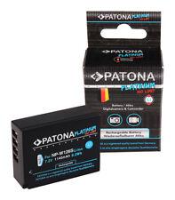 Platinum batería para Fuji np-w126s hs33 exr Fujifilm finepix-pro 1 hs30 1140mah