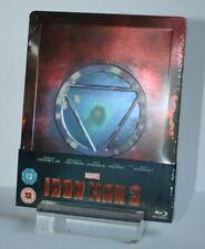OVP - Marvel - Iron Man 3 - Geprägtes Blu Ray Limited Steelbook - Englisch - OoP