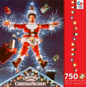 Ceaco National Lampoon's Christmas Vacation Shocking Clark 750 Pc. Jigsaw Puzzle