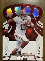 2020 Panini Chronicles Football TUA TAGOVAILOA Crown Royale RED Rookie RARE SP