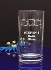 Mixer glass Birthday //41 Personalised Healthy Summer drink Engraved Hi ball
