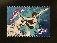2006 AUSTRALIA EXTREME SPORTS 50C SURFING - FINE USED