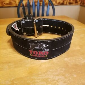 Titan Toro Bravo 1 prong  Powerlifting Belt - IPF Powerlifting Legal Black 10mm
