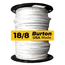 Burton Wire 18 AWG, 8-Conductor,Thermostat Wire,  Solid Copper, 250ft spool