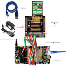 "8051 Microcontroller Development Board USB Programmer for 2.8""TFT LCD Display"