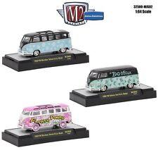 M2 Machines 1:64 Set of 3 VOLKSWAGEN VW M&J Exclusive 32500-MJS02