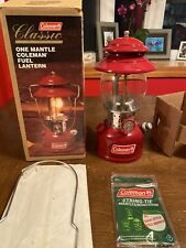1997 Coleman Lantern 200b ONLY LIT ONCE 😀😀😀 Very Rare
