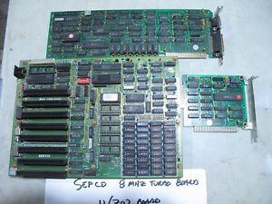 IBM SEFCO 8MHZ TURBO BOARD WITH Z02 BOARD