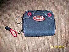 MUDD Denim Wallet  w/Keyring & Pull