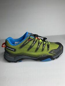 Shimano SH-MT44G Green/Gray Mountain Biking Cleats Shoes Men's Size 10.5