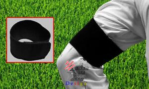 Trauerflor schwarze Armbinde Fußball Klettverschluss Trauerband NEU Trauerbinde