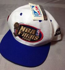 Vintage NBA Finals 1996 Chicago Bulls Hat New W/Tag Snap Back Official License