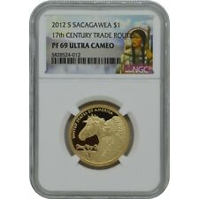 2012-S Sacagawea NGC PF69 Ultra Cameo Proof one Dollar Coin