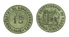 pci2335) VENEZIA - Governo Provvisorio  15 Centesimi 1848