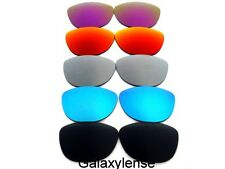 Galaxy Replacement Lenses For Oakley Frogskins Black&Blue&Gray&Red&Purple 5PAIR