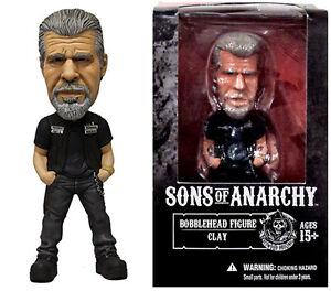 Sons of Anarchy Clay Morrow Bobblehead Mezco Toys NEW!