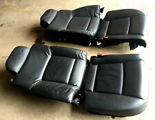 BMW F02 Long Rear Heated Leather Seat Seats Back Cushion Electric & massage