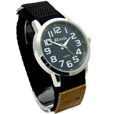 Ravel Gents Clear Easy-Read Watch Large Numbers Blue Face Sports Strap 1601.64.6