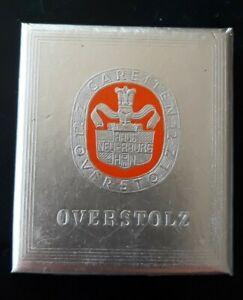 OVERSTOLZ Wehrmacht  Zigaretten 12 Stück 4.1/6 Rpf Haus Banderole ungeöffnet rar