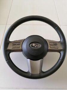 JDM 2009 Subaru Legacy GT Leather SRS Steering Wheel Paddle Shift 2010 2011 BR9