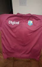 Woodworm West Indies Cricket Polo Shirt Maroon Size 2XL Golf