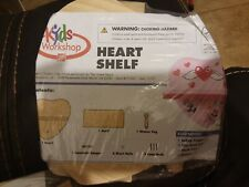 New Listinghome depot kids workshop heart shelf woodworking kit new