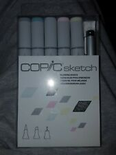 COPIC Sketch MARKERS, Sketching Grays