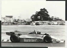 Riccardo Patrese ha #29 Warsteiner FRECCE FORD a3 1980 fotografia originale del periodo