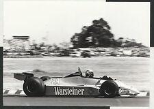 RICCARDO PATRESE #29 WARSTEINER ARROWS FORD A3 1980 ORIGINAL PERIOD PHOTOGRAPH