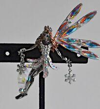 Fairy Pin In Silver Tone Kirks Folly Queen Delphine Snow