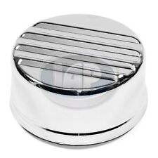 VW Stock Style Chrome Oil Cap. AC115352. Bug Bus Ghia. Ribbed Cap. Volkswagen