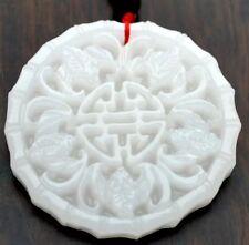 CHINA Jade-Anhänger Traditionelles Muster mit 68cm Halskette Unikat Amulett