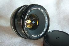 Standardobjektiv Canon FD 50mm 1:1,8 S.C. Blendenautomatik Nr.1003955