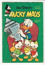 Micky Maus Nr. 19 von 1957 altes Original im Zustand 2 vom Ehapa Verlag  !!!