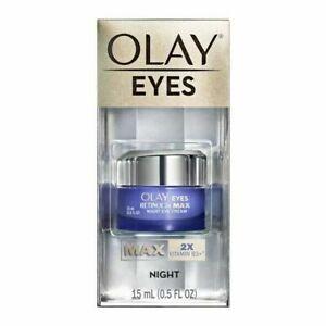 Olay Regenerist Retinol 24 Max Night Eye Cream - 0.5 fl oz - New