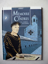 JARBINET MEMOIRE DE CENDRES TOME 2 COEUR DE PIERRE EO ETAT NEUF