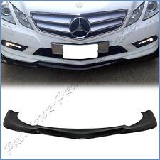 Carbon Fiber GH Look Front Add Lip For BENZ 10-13 W207 C207 E250 E350 AMG Bumper