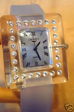 LUNABIANCA Ladies Watch   Genuine Swarovski Crystal Made in Italy