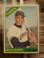 1966 Topps Willie McCovey CARD San Francisco Giants  #550 VG eye appeal invest