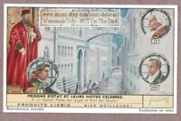Doge's Palace Prison Venice Italy History  50+ Y/O Trade Ad Card