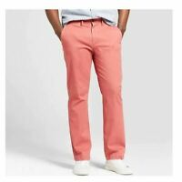 Men's GOODFELLOW & CO - Straight Fit Hennepin Chino Pants Red