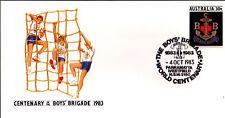 1983 Centenary of Boys Brigade PSE - Parramatta Westfield NSW 2150 PMK