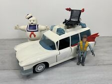 The Real Ghostbusters Ecto 1 Car NR COMPLETE + Stay Puft Kenner 1984