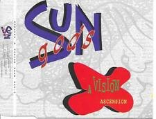 SUNGODS - A Vision / Ascension CDM 7TR Techno House 1992 Holland RARE!!
