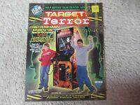 TARGET TERROR     ARCADE GAME  FLYER    CF-A