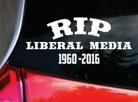 ANTI LIBERAL MEDIA car Decal Sticker [ for truck rv van bike moto windows]