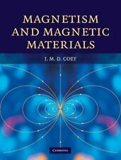 MAGNETISM AND MAGNETIC MATERIALS - COEY, J. M. D. - NEW HARDCOVER BOOK
